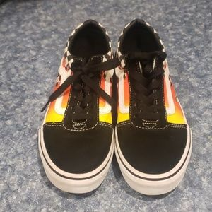Kids Vans Old school flames